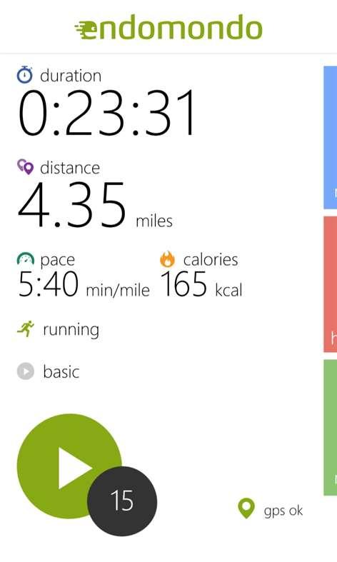 Endomondo Sports Tracker Screenshots 1