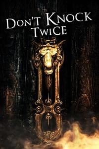 Carátula para el juego Don't Knock Twice de Xbox 360