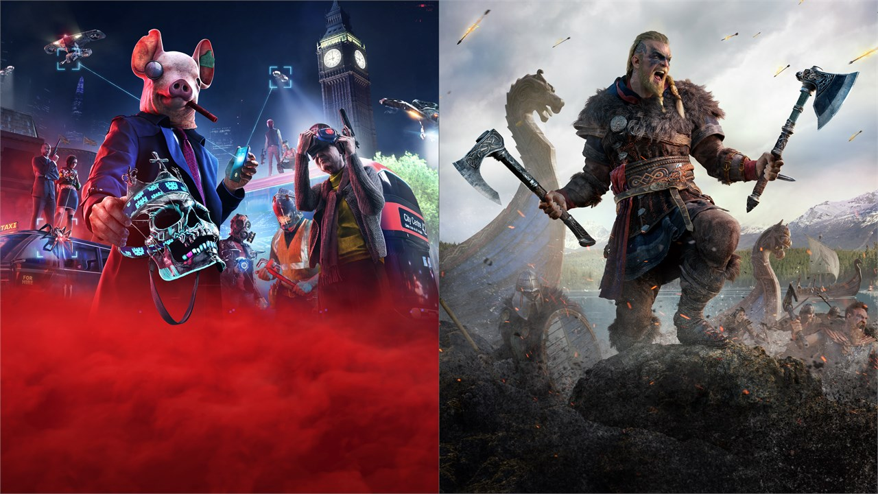 Buy Assassin S Creed Valhalla Watch Dogs Legion Bundle Microsoft Store