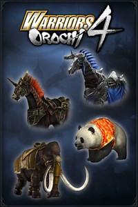 Carátula del juego WARRIORS OROCHI 4: Legendary Mounts Pack