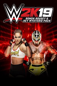 Carátula del juego WWE 2K19 Ronda & Rey Pack