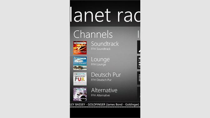 Get planet radio microsoft store.