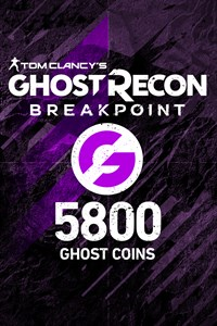 Carátula del juego Ghost Recon Breakpoint: 4800 (+1000) Ghost Coins
