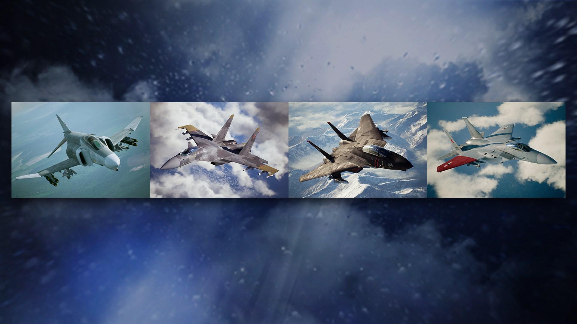 Buy Ace Combat 7 Skies Unknown F 4e Phantom Ii 3 Skins Microsoft Store En In