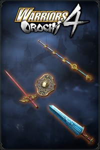 Carátula del juego WARRIORS OROCHI 4: Legendary Weapons OROCHI Pack 1
