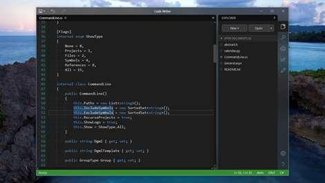 Code Writer Screenshots 1