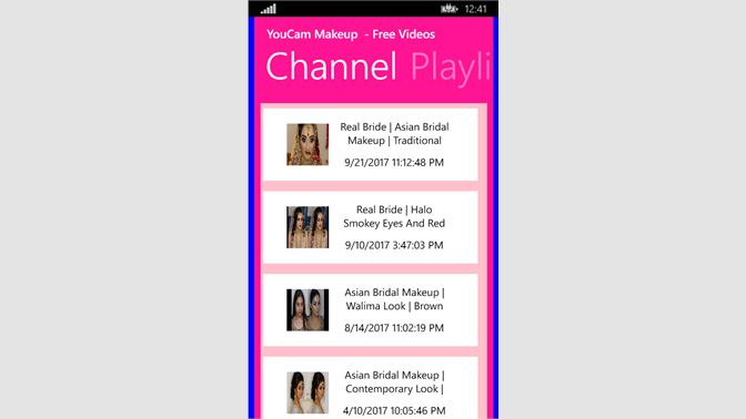 Get YouCam MakeUp - Photo Editor Videos - Microsoft Store