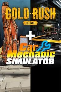 Simulator Pack: Car Mechanic Simulator and Gold Rush: The Game (DOUBLE BUNDLE)