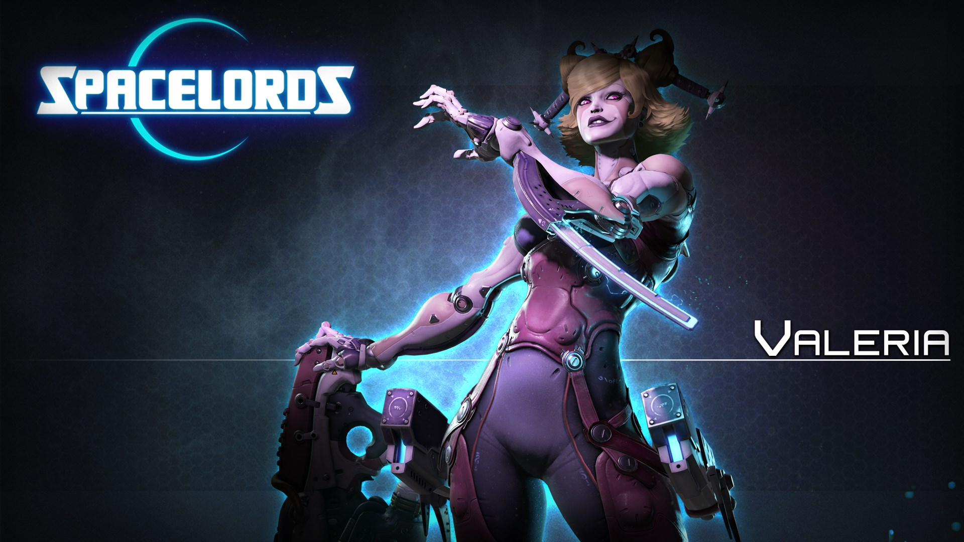 Spacelords - Valeria Premium Character Pack