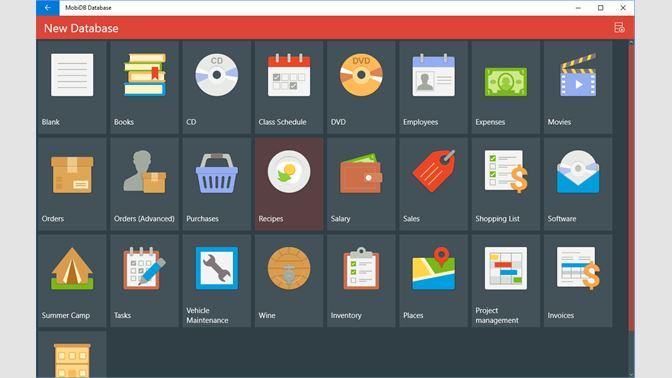 Get MobiDB Database - Microsoft Store
