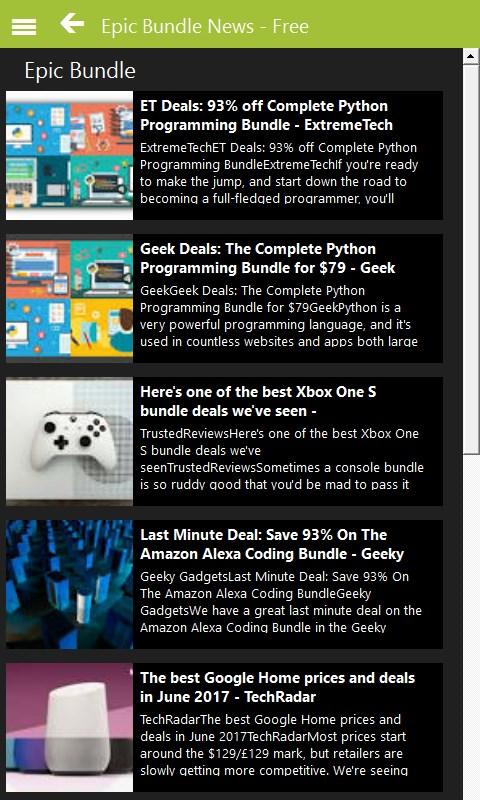 Get Epic Bundle News - Free - Microsoft Store