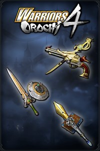 Carátula del juego WARRIORS OROCHI 4: Legendary Weapons Samurai Warriors Pack 5