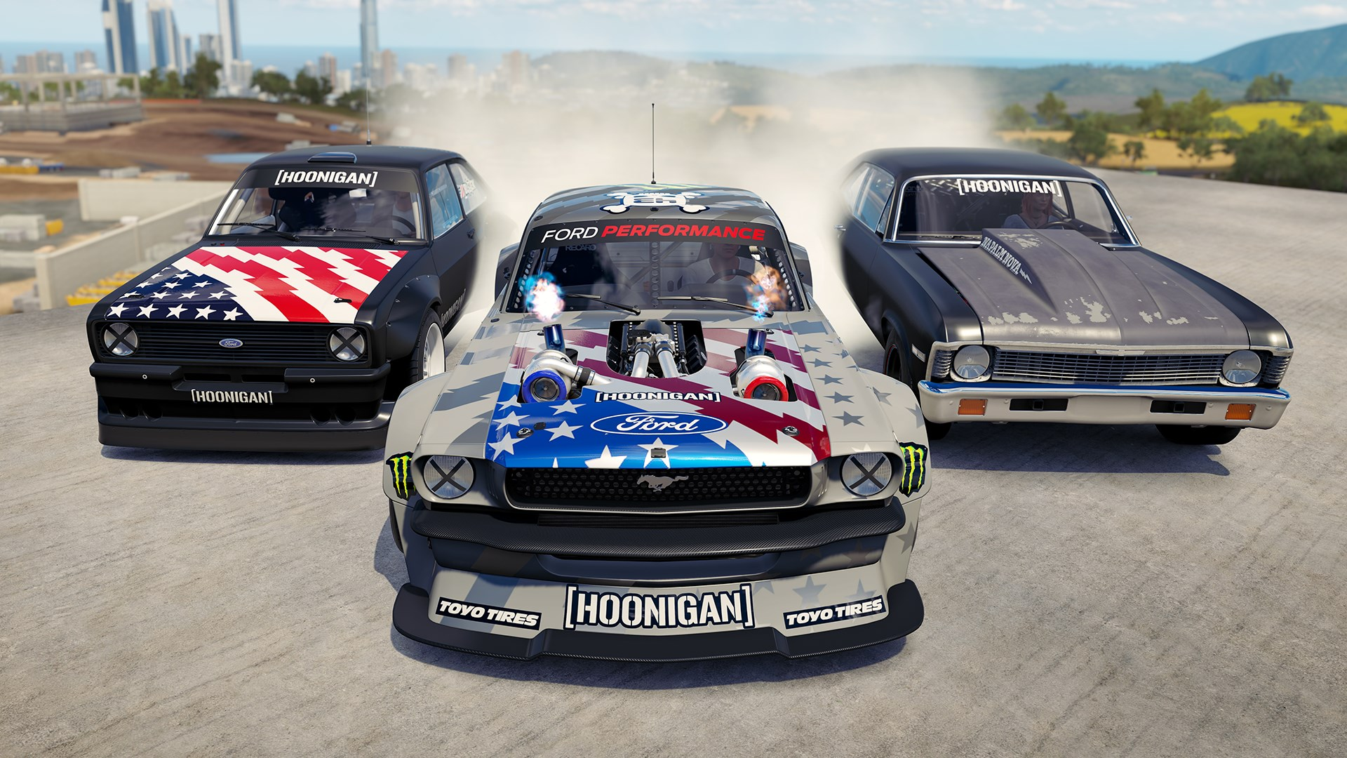 buy forza horizon 3 hoonigan car pack microsoft store en sg. Black Bedroom Furniture Sets. Home Design Ideas