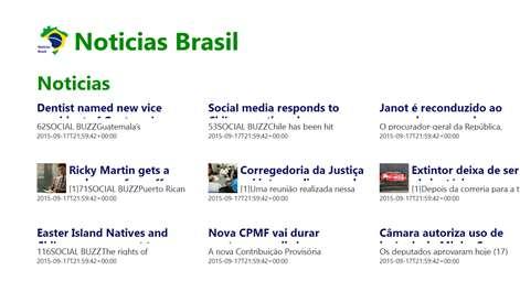 Noticias Brasil Screenshots 1