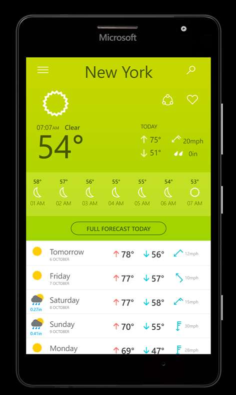Buy The Weather 14 days - Microsoft Store Macedonia, FYRO