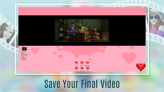 Love Videos: Free Video Editor, Photo Movie Maker & Slideshow Maker screenshot 3