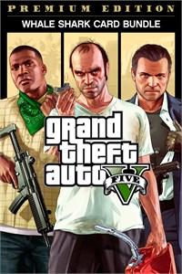 Bundle Grand Theft Auto V: Edição Online Premium e Pacote de Dinheiro Tubarão-Baleia