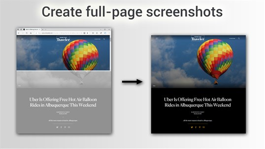 Take Webpage Screenshots Entirely - FireShot screenshot
