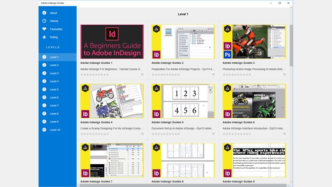 Adobe Indesign Guides