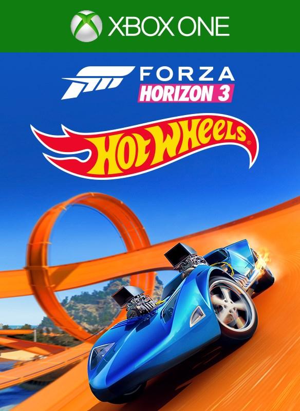 Forza Horizon 3 Hot Wheels boxshot