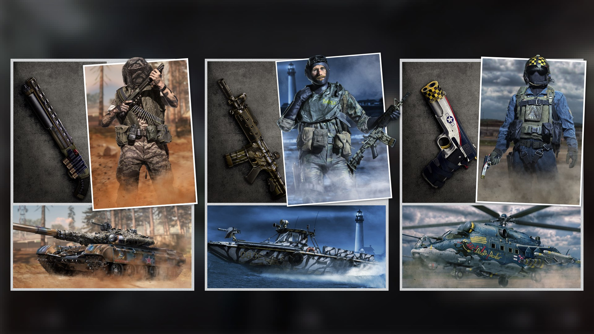 Call of Duty® - Pack Guerre froide Air, terre et mer