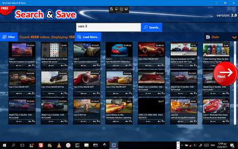 Search+Save Online Videos Screenshots 2