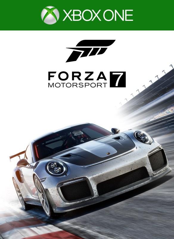 Forza 7 boxshot