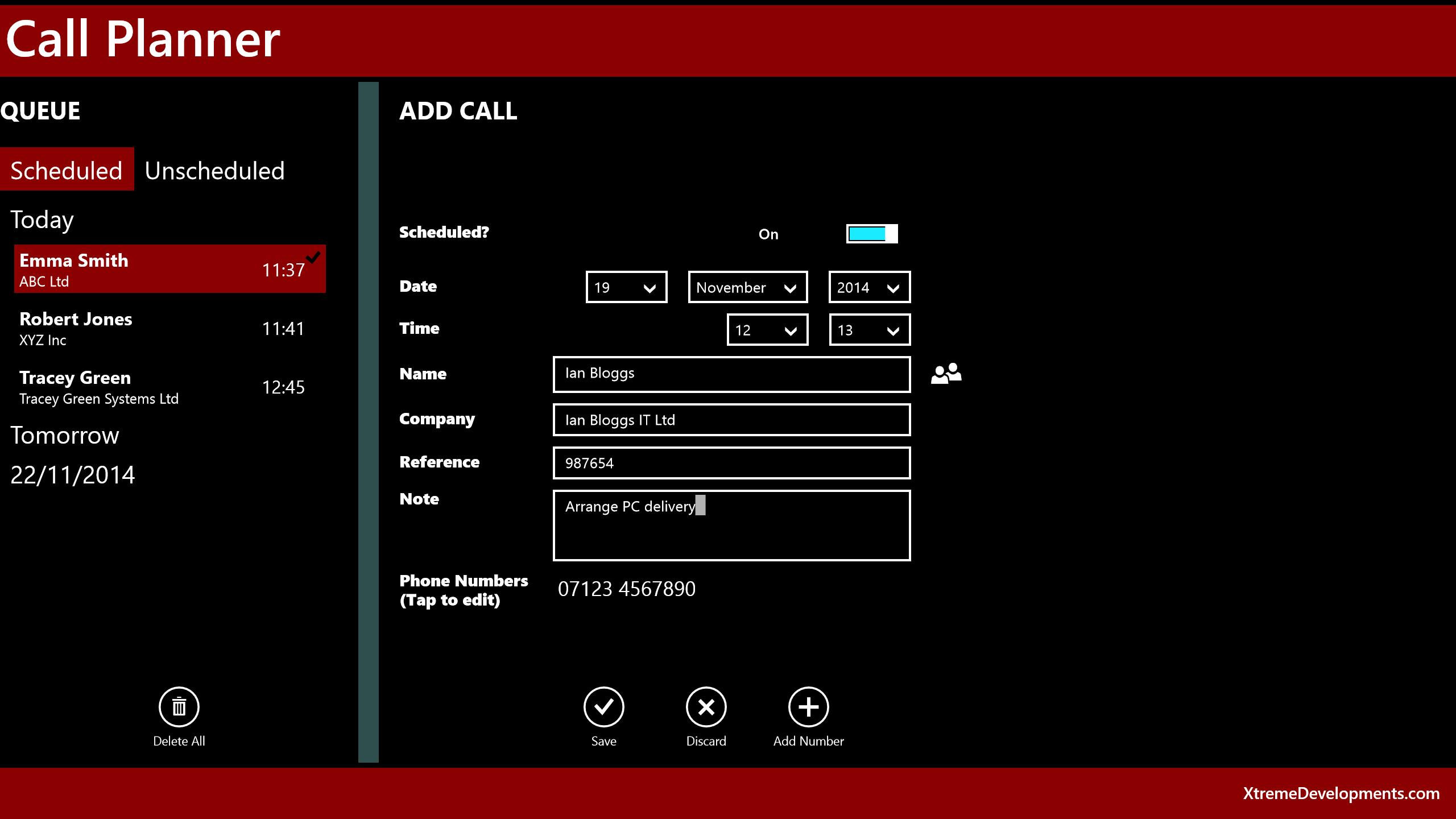 Call planner for windows 10 for Tile planner app