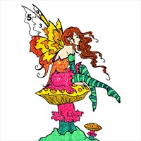 Fairy Glitter Color By Number - Girls Coloring Book beziehen ...