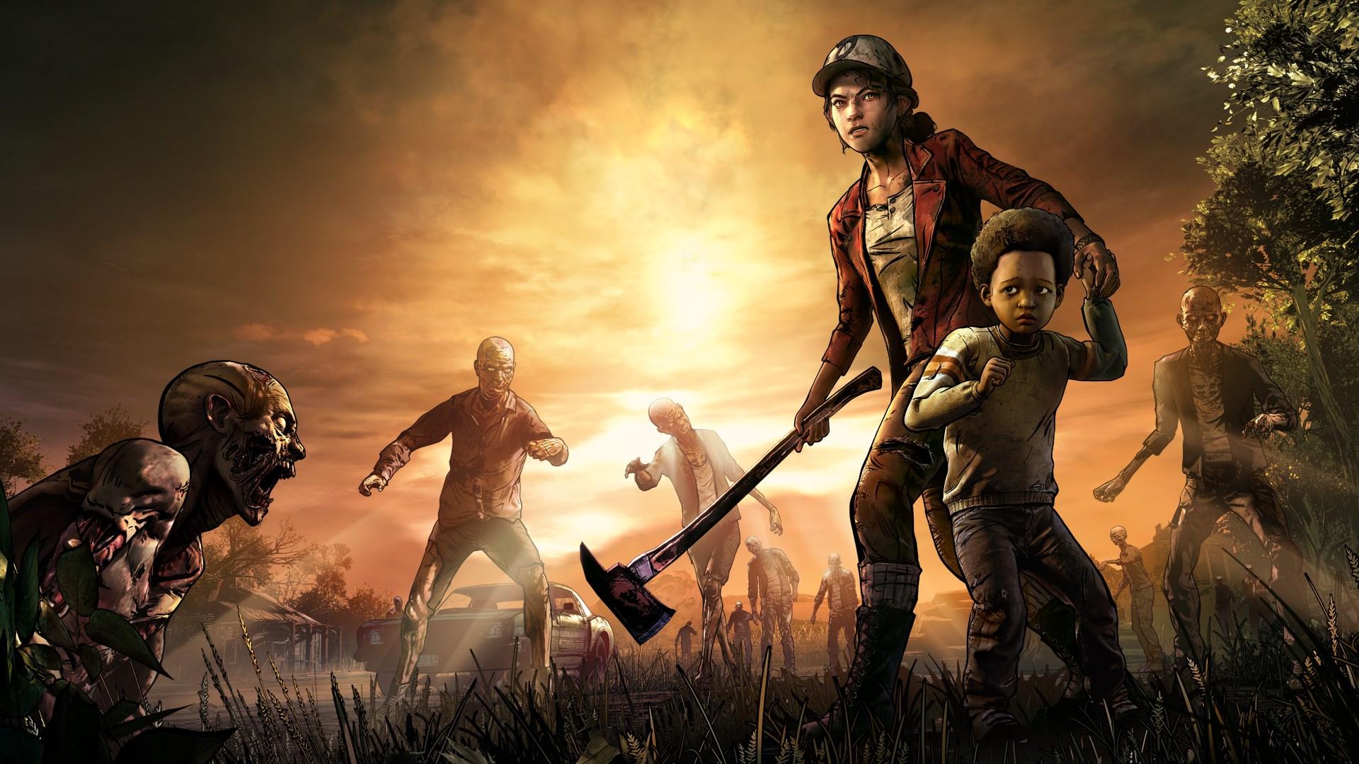 The Walking Dead: The Final Season key art