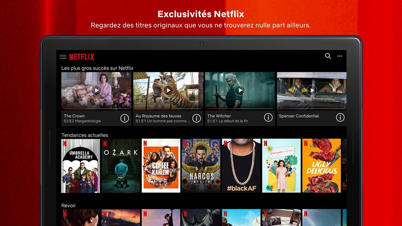 télécharger un vidéo sur internet - vous pouvez utiliser l'application Netflix pour Windows 10