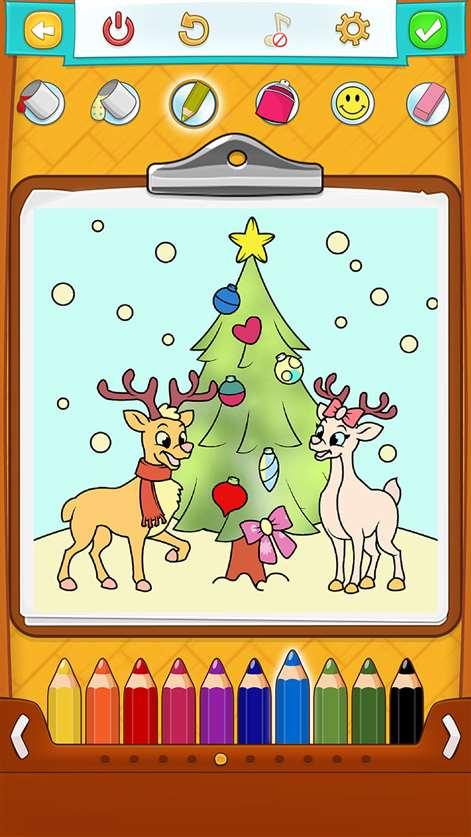 Kleurplaten Rond Kerst.Kerst Kleurplaten Microsoft Store