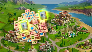 Jewels of Mahjong: Une fichas, restaura la ciudad