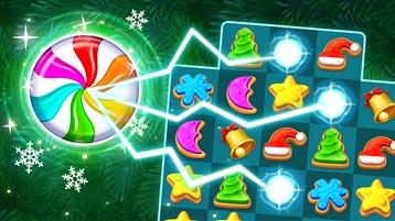 Galletas navideñas: combinar 3 de Santa Claus