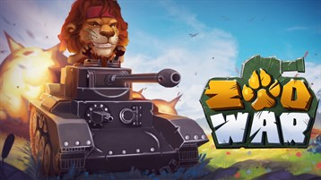 Tank games Zoo War: Battle Royale online